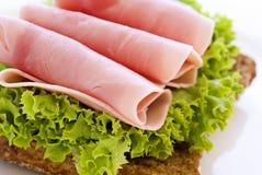 Sanduíche de presunto Fotos de Stock
