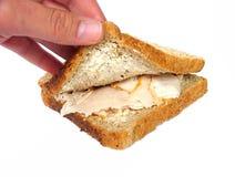Sanduíche de turquia Fotografia de Stock Royalty Free