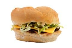 Sanduíche de Turquia e de queijo Imagens de Stock Royalty Free