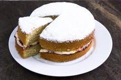 Sanduíche de Victoria Imagem de Stock