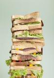 Sanduíche de XXL Imagens de Stock
