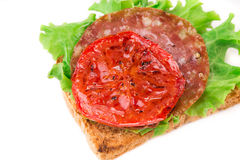 Sanduíche delicioso Fotos de Stock