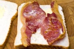 Sanduíche do bacon Foto de Stock Royalty Free