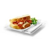 Sanduíche do bacon Fotos de Stock