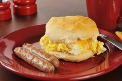 Sanduíche do café da manhã Imagem de Stock