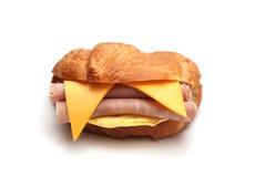 Sanduíche do café da manhã fotografia de stock royalty free