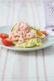 Sanduíche do camarão Imagem de Stock Royalty Free