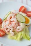 Sanduíche do camarão Fotografia de Stock