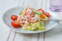 Sanduíche do camarão Fotos de Stock