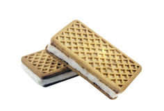 Sanduíche do gelado Imagem de Stock Royalty Free