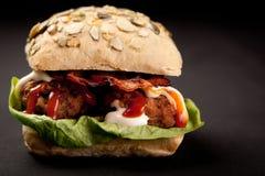 Sanduíche do Meatball Imagens de Stock Royalty Free