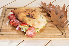 Sanduíche do outono Foto de Stock Royalty Free