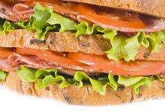 Sanduíche do Pastrami fotografia de stock