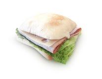 Sanduíche do presunto e do queijo Imagem de Stock Royalty Free