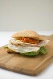 Sanduíche do presunto e do queijo Foto de Stock Royalty Free