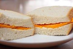 Sanduíche do queijo Fotografia de Stock Royalty Free