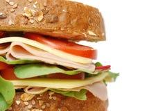 Sanduíche do supermercado fino Imagens de Stock Royalty Free