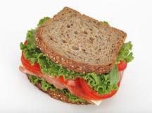 Sanduíche do supermercado fino Imagens de Stock