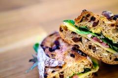 Sanduíche do supermercado fino Foto de Stock