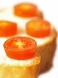 Sanduíche do tomate Foto de Stock Royalty Free
