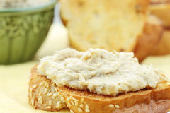 Sanduíche do Vegan Fotografia de Stock Royalty Free