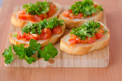 Sanduíche do vegetariano Fotografia de Stock