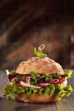Sanduíche italiano saboroso Imagem de Stock Royalty Free