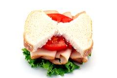 Sanduíche magro Imagem de Stock Royalty Free