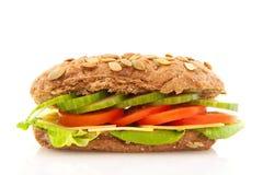 Sanduíche marrom saudável Foto de Stock Royalty Free