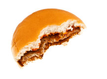 Sanduíche mordido Fotos de Stock
