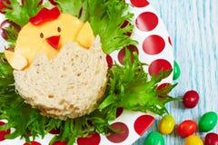 Sanduíche para Easter Imagens de Stock Royalty Free