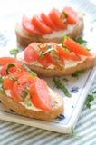 Sanduíche para o pequeno almoço Imagens de Stock Royalty Free