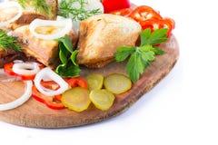 Sanduíche quente Imagens de Stock