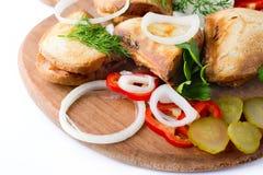Sanduíche quente Foto de Stock