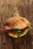 Sanduíche saboroso fresco Imagem de Stock
