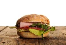 Sanduíche saboroso fresco Imagem de Stock Royalty Free