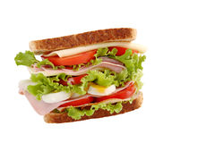 Sanduíche saudável imagens de stock royalty free