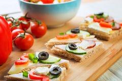 Sanduíche saudável Foto de Stock