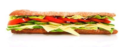 Sanduíche saudável do queijo Foto de Stock