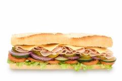 Sanduíche secundário foto de stock