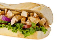 Sanduíche secundário Imagem de Stock Royalty Free