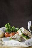 Sanduíche secundário de Turquia Fotografia de Stock