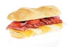 Sanduíche submarino da carne do assado Fotografia de Stock Royalty Free