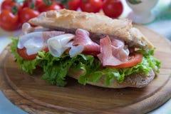 Sanduíche submarino italiano imagem de stock royalty free