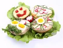 Sanduíches Imagem de Stock