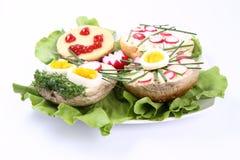 Sanduíches Imagens de Stock