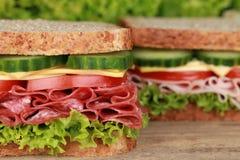 Sanduíches Foto de Stock Royalty Free