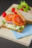 Sanduíches Fotografia de Stock