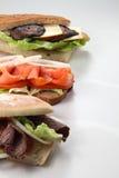 Sanduíches Fotos de Stock
