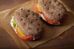 sanduíches Imagens de Stock Royalty Free